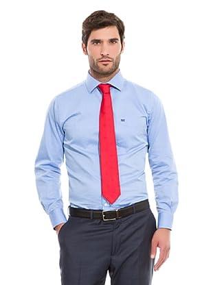 Pedro del Hierro Camisa Vestir (Azul Medio)