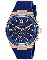 Giordano Analog Blue Dial Men's Watch - 1738-04
