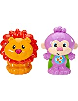 Fisher-Price Laugh & Learn Talk 'N Teach Monkey & Lion