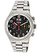 Fossil Qualifier Analog Black Dial Men's Watch - CH2909I