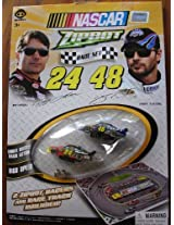 Nascar Zipbot Race Set : Jeff Gordon & Jimmie Johnson