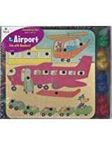 Ideal At the Airport (A Peg-N-Play Set) Fun with Numbers!