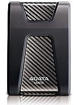 Adata Dashdrive HD650 1TB Portable External Hard Drive (Black)