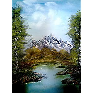 NUCreations Into The Wild - 2 - Original Painting - Oil Paint On Canvas