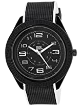 MTV Analog Black Dial Men's Watch - B7005BK