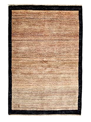 Darya Rugs Modern Oriental Rug, Brown, 4' 1