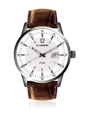 K&BROS Reloj 9439-2 Marrón