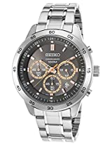 Seiko Analog Black Dial Men's Watch - SKS521P1