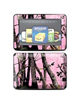 Protective Skin Decal Cover for Amazon Kindle Fire HD 8.9 inch Tablet Sticker Skins Pink Tree Camo