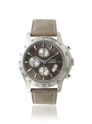 Gucci Men's YA126241 Gucci Timeless Anthracite Diamond Pattern Watch