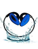 Amkette Trubeats Pulse Bluetooth Headphones (Blue)