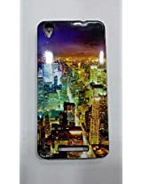 Lava Atom -3 printed phone cover, Multi-coloured
