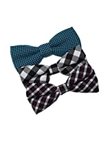DBE0172 Economics Shopstyle Microfiber Bow ties Gift Idea For Boyfriend 3 Pack Bow Tie Set By Dan Smith