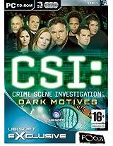 CSI Dark Motives (PC) (UK)