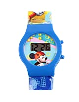 Mickey Mouse We're Off To Explore Kids Digital Watch - Blue