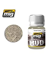 Ammo Of Mig Jimenez Turned Earth Enamel Soil Mud Texture 35m L #1702