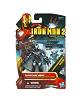 Iron Man 2 Comic 4 Inch Action Figure #38 War Machine Cyborg with Interchangeable Heads