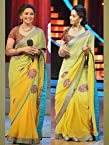 Madhuri With Tushar Bollywood Replica Saree