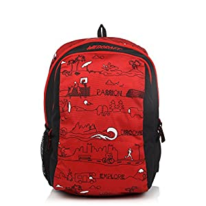Scoot Ld Red Backpack