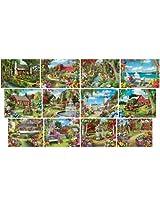 Masterpieces 31535 Alan Giana Giana Bundle Puzzle
