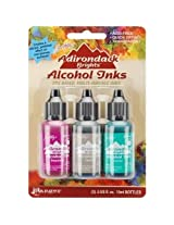 Ranger Adirondack Brights Alcohol Ink 1/2-Ounce 3/Pkg, Valley Trail