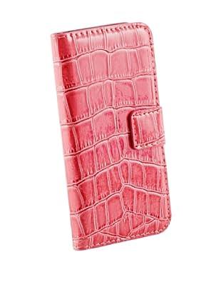 Beja Funda de protección Rosa para iPhone 5/5S aspecto Cocodrilo