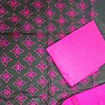 Multi Cotton Dress Material With Dupatta