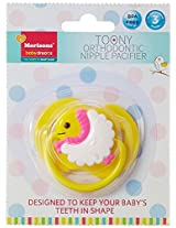 Baby Dreams Toony Orthodontic Pacifier (Yellow)
