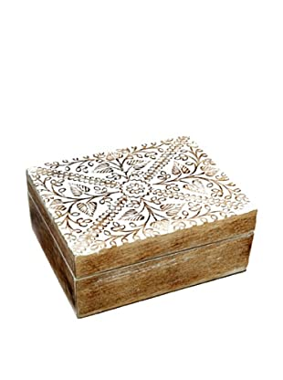 Mela Artisans Ivy Mango Wood Decorative Box