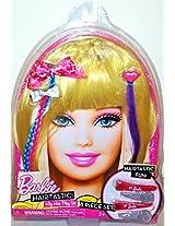 Barbie Hair Tastic Wig Hair Play Set Blonde Dress Up 8 Pieces