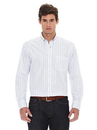 Turrau Camisa Doble Raya Classic (Azul)