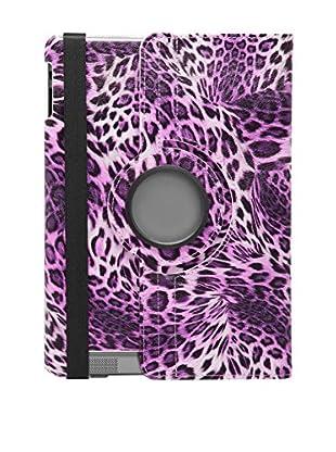 Unotec Funda 360 iPad 2 / 3 / 4 L-Pard Morado