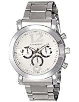 Giordano Technograph White Dial Men's Watch - P9031
