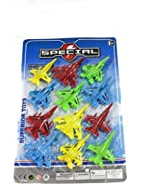 ToyTree 12 pc of Space Airplane Set with Wheel