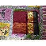 Red Kanjivaram Silk Saree With blouse piece