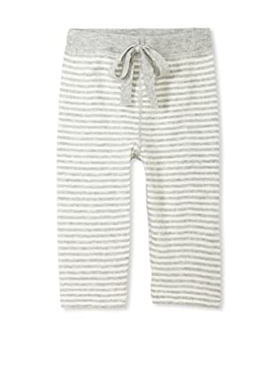 Neige Baby Harlon Striped Pants (Ivory/Heather Grey)
