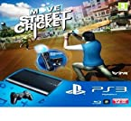 SONY Playstation 3 PS3 Move Starter Pack Controller with Move Street Cricket II 2