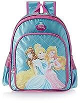 Princess 35 litres Sky Blue Children's Backpack (St-Dpcd-623-14)