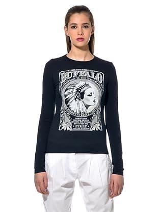 Fiorucci Camiseta Imperia (Negro)