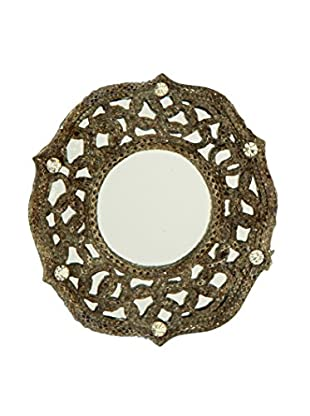 Sage & Co. Picture Frame Mirror Ornament, Antique Silver