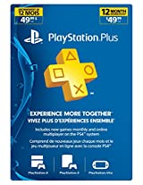 Sony PS4/PS3/PS Vita 1-Year Playstation Plus Membership Card