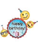 Anagram Emoji Birthday Wishes Foil P40