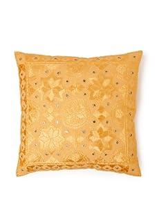 "AKMD 16""x 16"" Throw Pillow (Gold)"