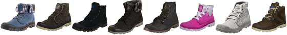 Palladium Men's Pampa Hi Lea Gusset Lace Up Boot