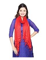 Cotton Blend Checkered Women's Dupatta