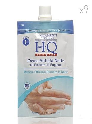 HQ Kit De 9 Productos Crema De Manos Anti-Edad Noche 50 ml cad.