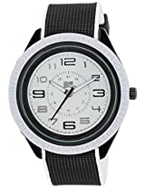 MTV Analog White Dial Men's Watch - B7005WH