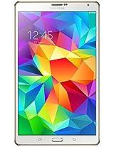 Samsung Tab S Wi Fi and 4G 16 GB T705 N White