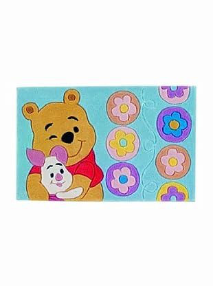 ABC Tappeti Alfombra Disney Tuft 3 (Winnie Azul)