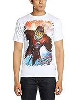 Marvel Men's Round Neck Cotton T-Shirt